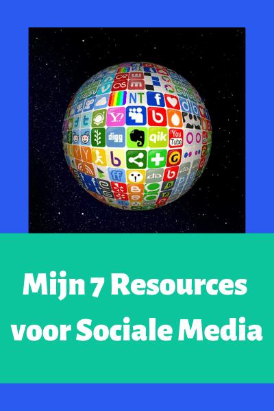 Mijn 7 Resources voor Sociale Media