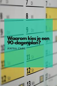 Anfra Care pin Waarom kies je een 90 dagenplan